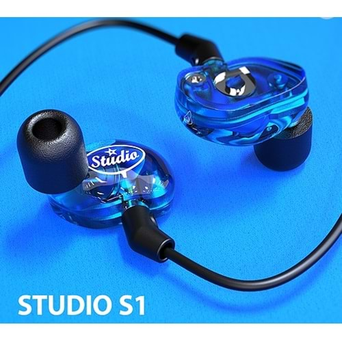 ACCUTONE ZE-STUDIO-1 S1 IN EAR MONITOR KULAKLIK